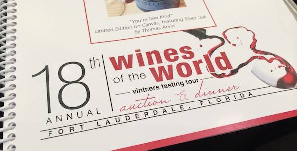 Wines of the World Auction & Tour
