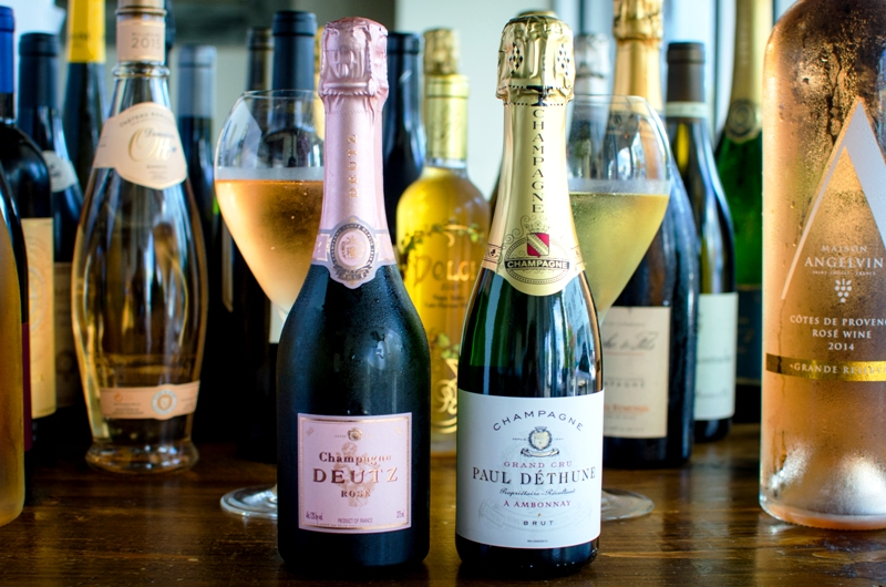 Fooq's Grower Champagne Menu – Miami -new Grower Champagne program – photo courtesy @fooqsmiami