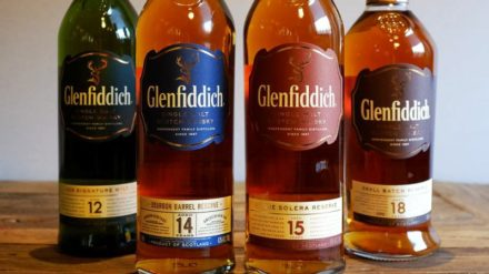 Glenfiddich Solera Reserve - collection - courtesy of glenfiddich