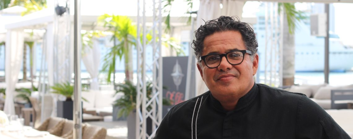 Executive Chef Alfredo Alvarez of The Deck at Island Gardens