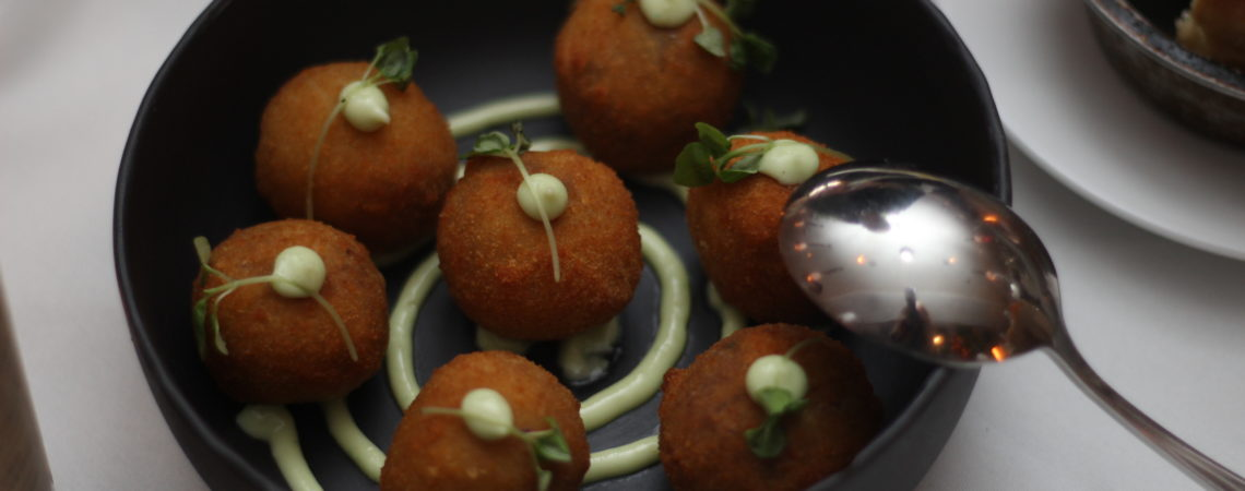 Wagyu Beef Croquettes at Quality Meats Miami