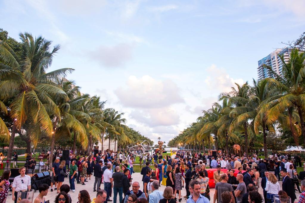 Art Basel Miami – art park courtesy of Art Basel