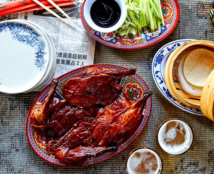 Chinese New Year - TALDE Miami - Peking Duck- photo by Michael Pissari
