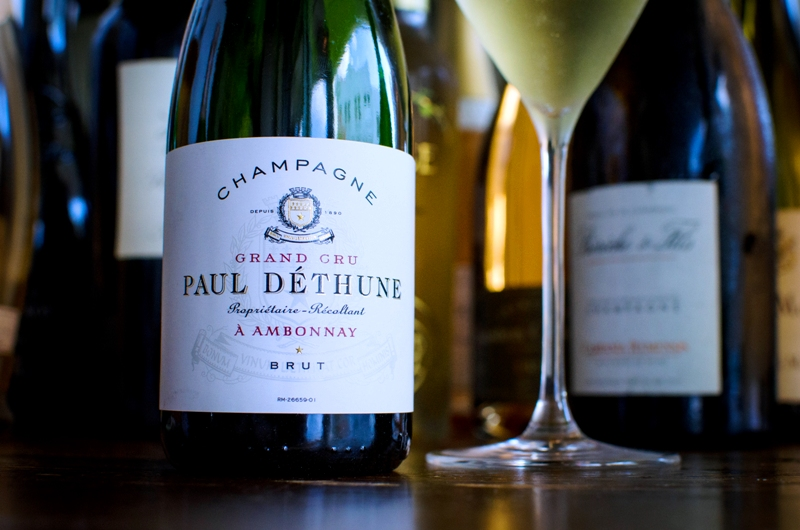 Fooq's Grower Champagne Menu – Miami -Paul Déthune – photo courtesy @fooqsmiami