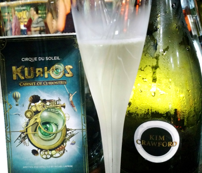 KURIOS cirque du soleil - kim crawford wines - @fooddrunkie