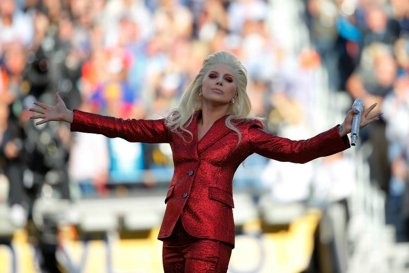 super bowl watch - lady gaga performs - courtesy of lady gaga.