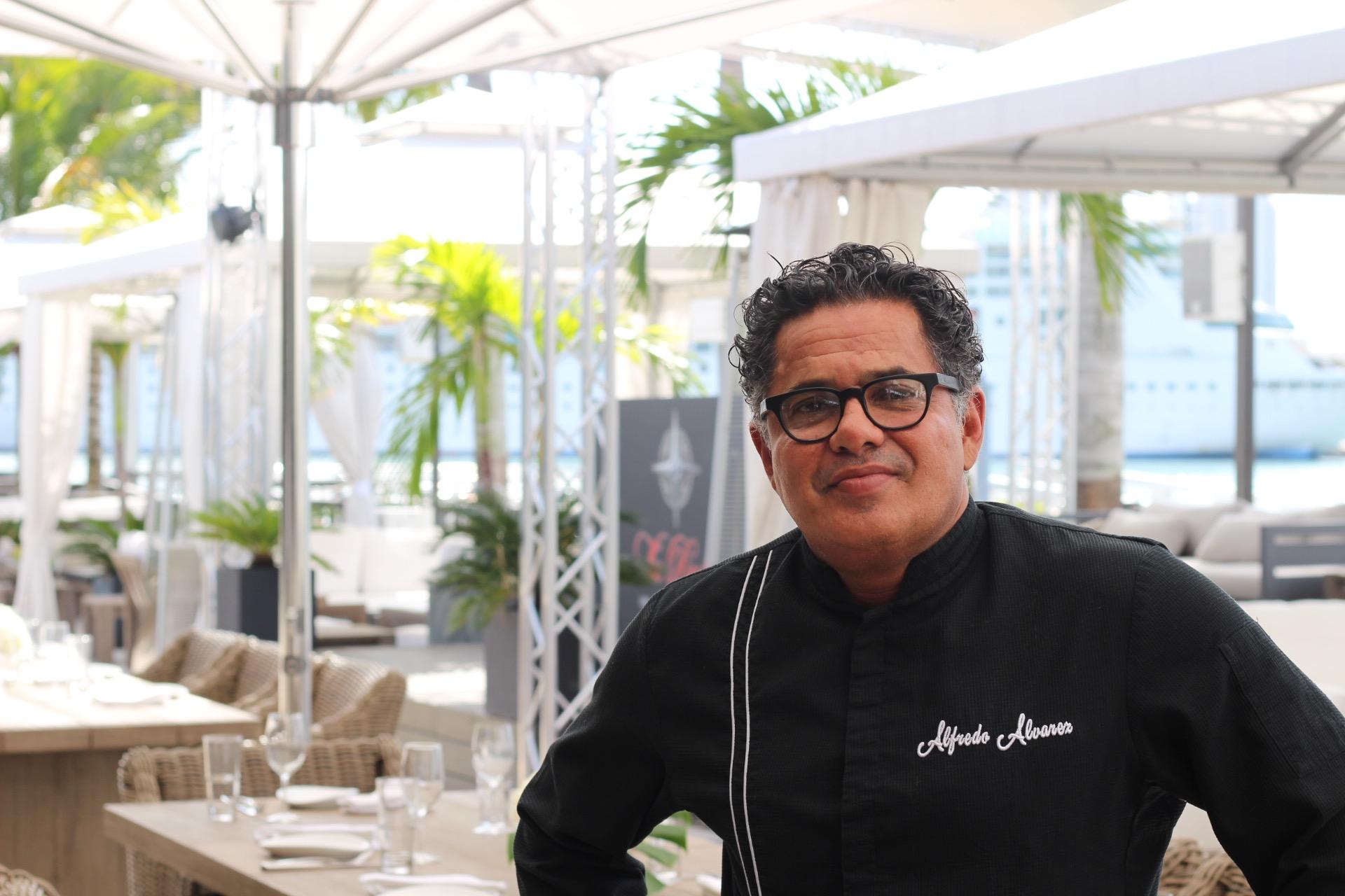 Executive Chef Alfredo Alvarez of The Deck at Island Gardens
