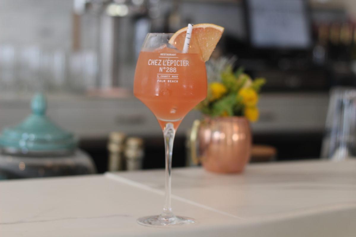 Grapefruit Cocktail _ Chez L'Epicier