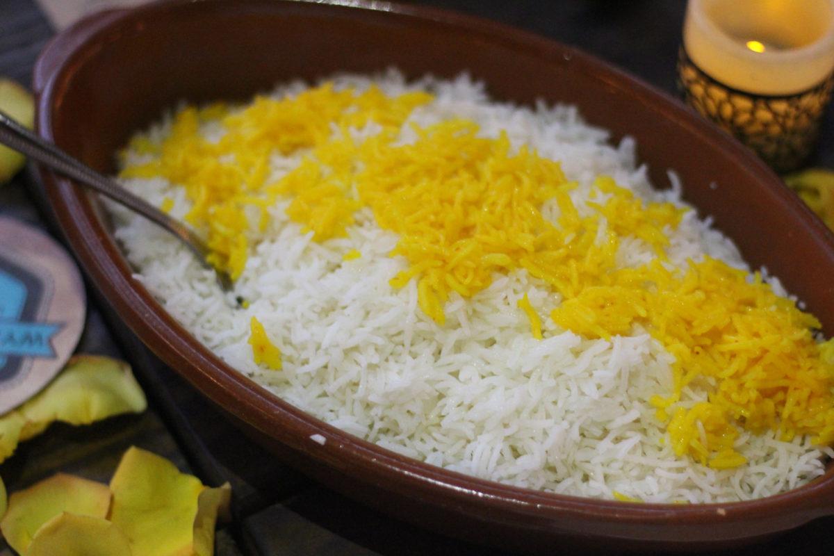 saffron supper club rice