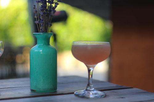 Dusty Rose Craft Cocktail / Saffron Supper Club