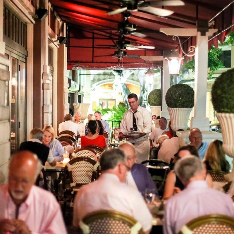 Jean-Claude Boisset Wine Dinner - patio of pistache french bistro - Courtesy of pistache