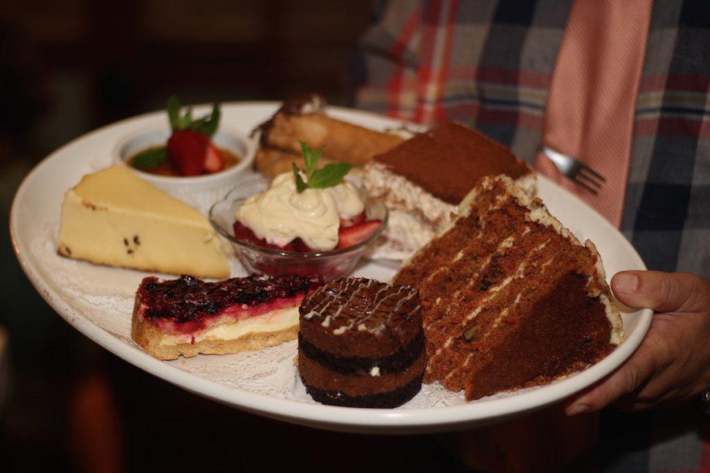 Dessert Plate at Baciamo Italiano