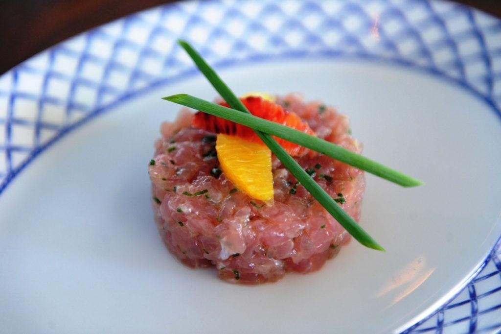 Tuna Tartar from Kiki on the River