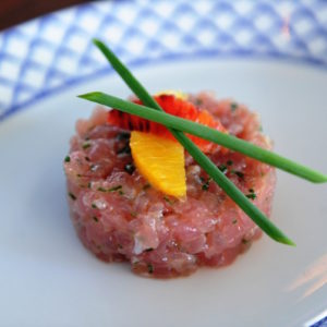 Tuna Tartar from Kiki on the River