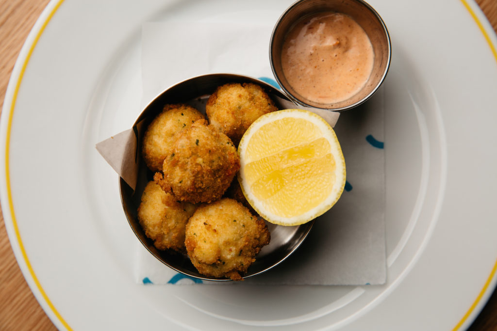 Crab Croquettes / Photo courtesy of Diplomat Beach Resort
